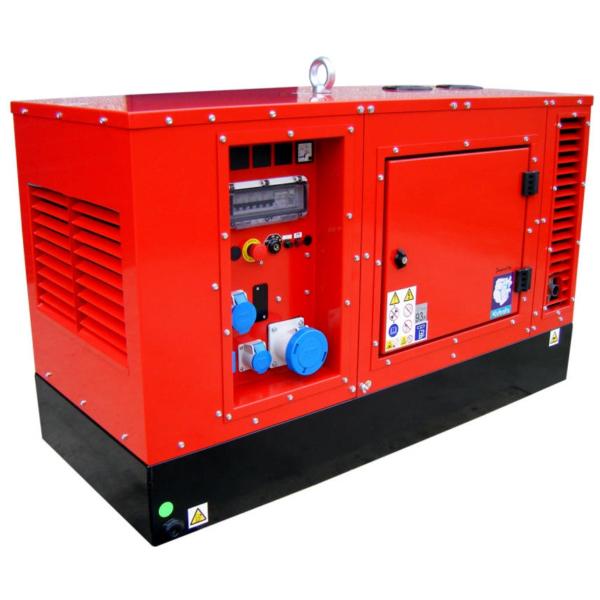 Дизельный генератор EUROPOWER EPS 163 DE с подогревом в кожухе