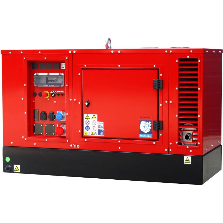 Дизельный генератор EUROPOWER EPS 14 TDE в кожухе с АВР
