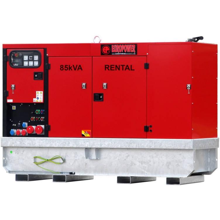Дизельный генератор EUROPOWER EPSR 85 TDE в кожухе с АВР