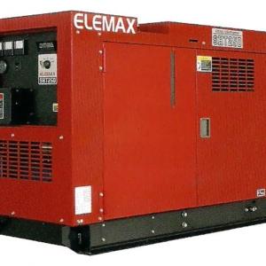 Дизельный генератор ELEMAX SHT25D-R в кожухе с АВР