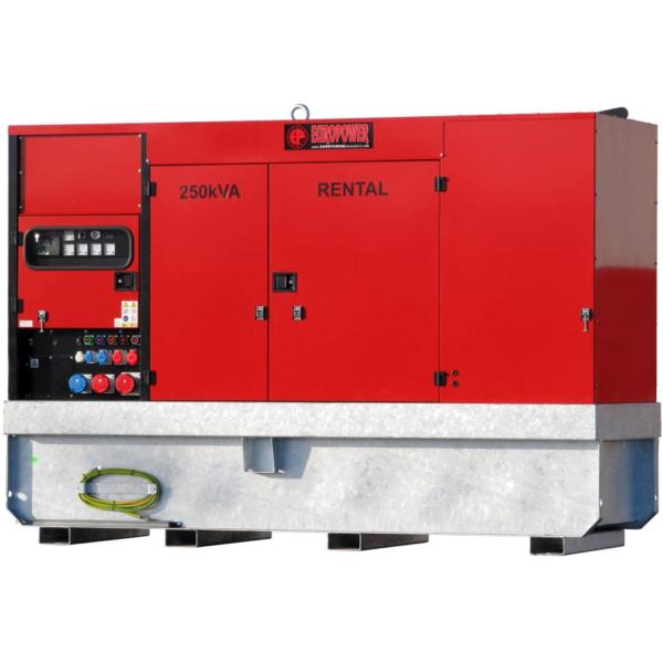 Дизельный генератор EUROPOWER EPSR 250 TDE в кожухе