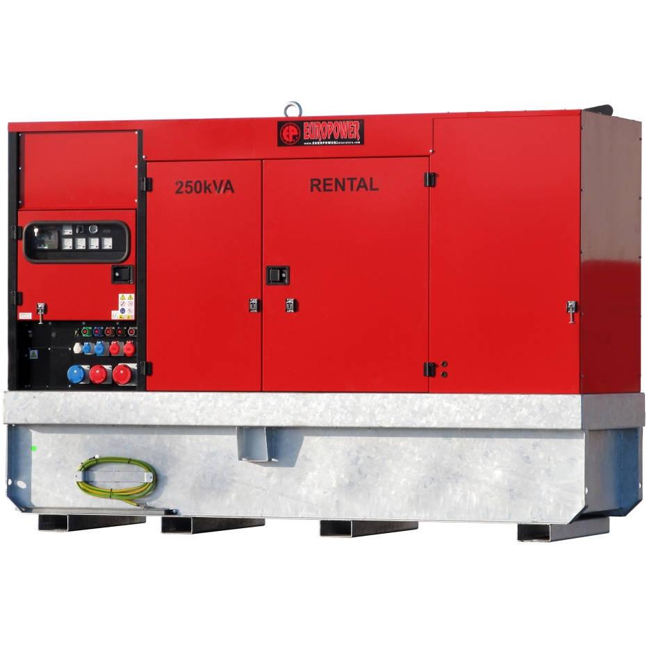 Дизельный генератор EUROPOWER EPSR 250 TDE в кожухе с АВР