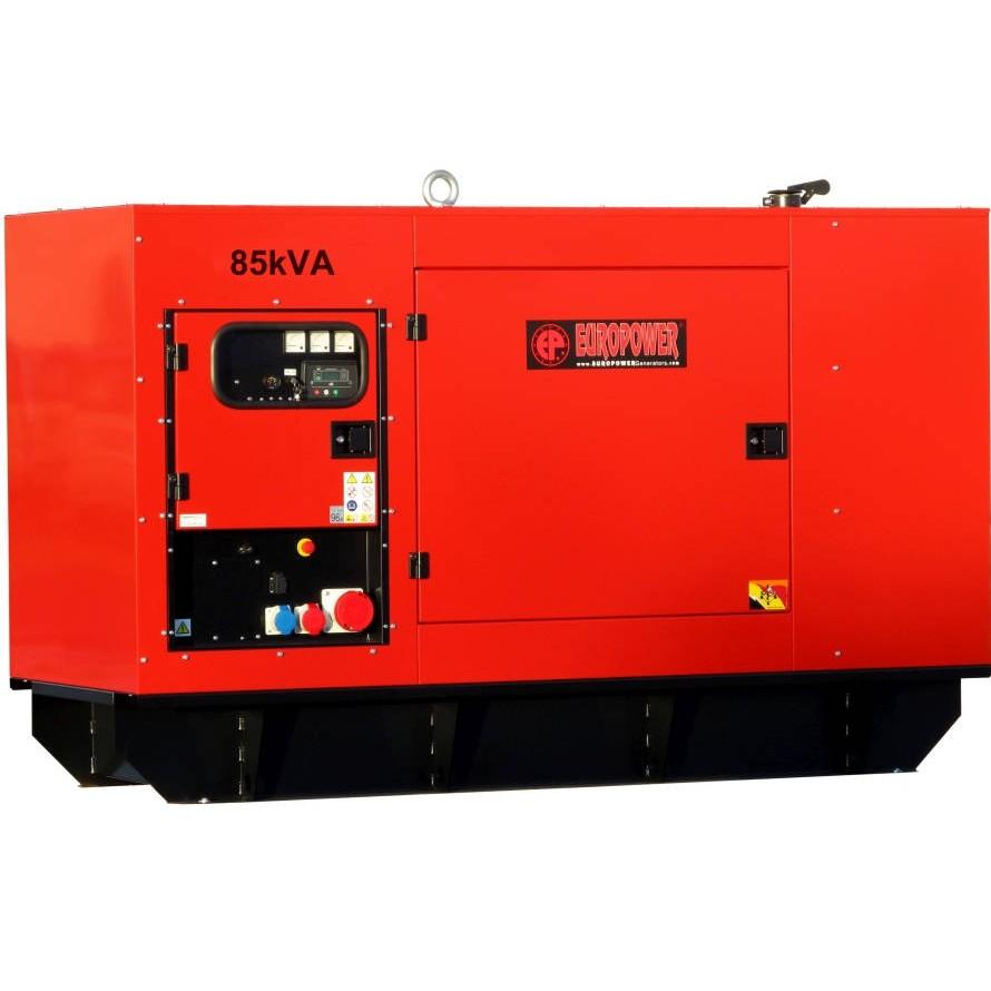Дизельный генератор EUROPOWER EPS 85 TDE в кожухе с АВР