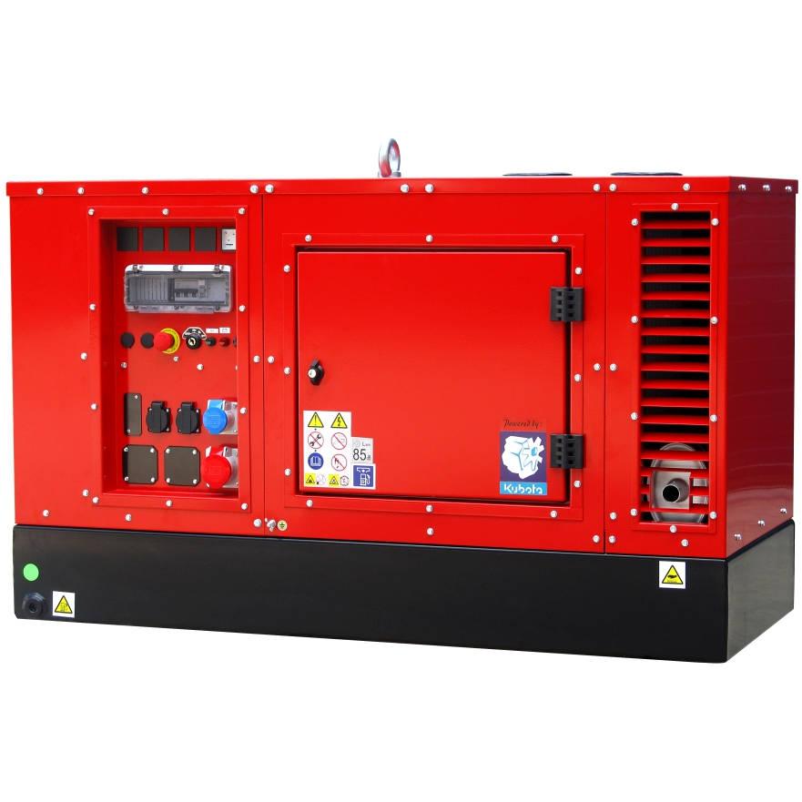 Дизельный генератор EUROPOWER EPS 20 TDE в кожухе с АВР