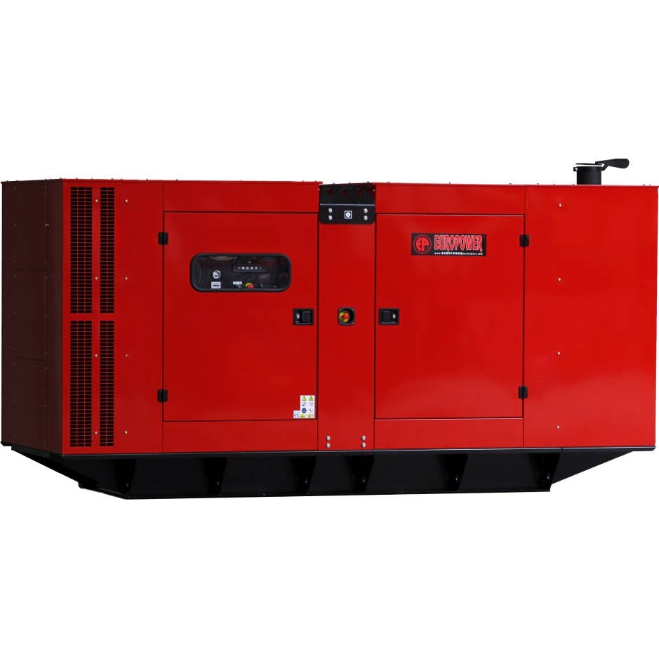 Дизельный генератор EUROPOWER EPS 410 TDE в кожухе с АВР