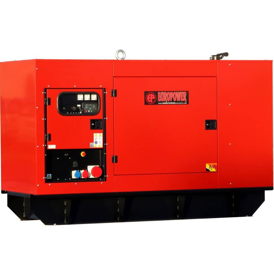 Дизельный генератор EUROPOWER EPS 130 TDE в кожухе с АВР
