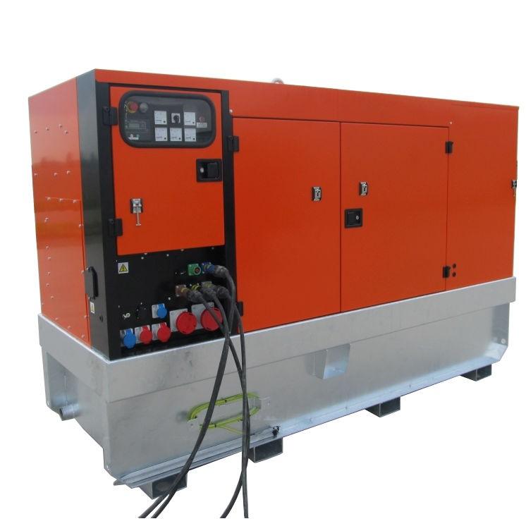 Дизельный генератор EUROPOWER EPSR 150 TDE в кожухе с АВР