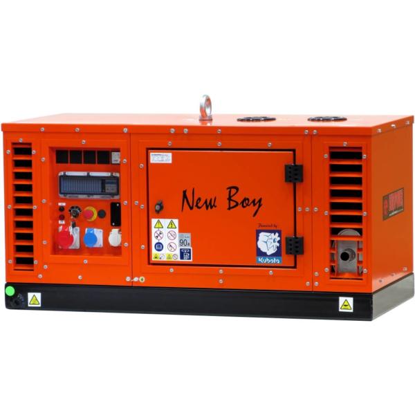 Дизельный генератор EUROPOWER EPS 113 TDE в кожухе