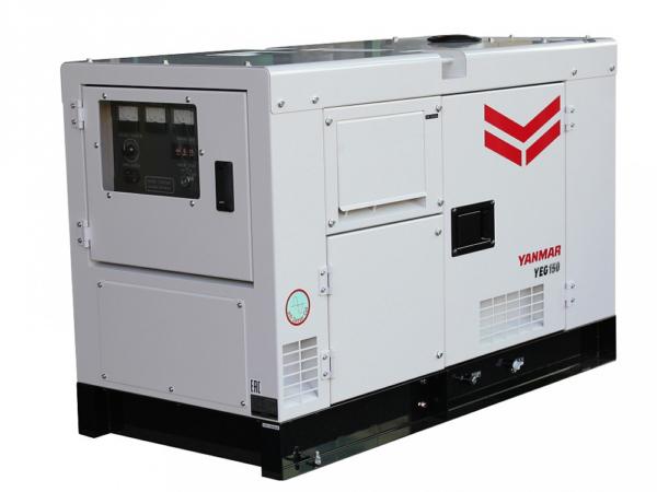 Дизельный генератор YANMAR YEG300DSHS-5B в кожухе