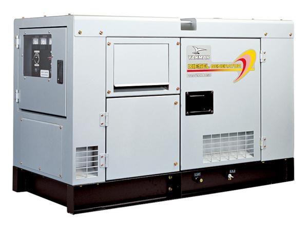 Дизельный генератор YANMAR YEG150DSHS-5B в кожухе