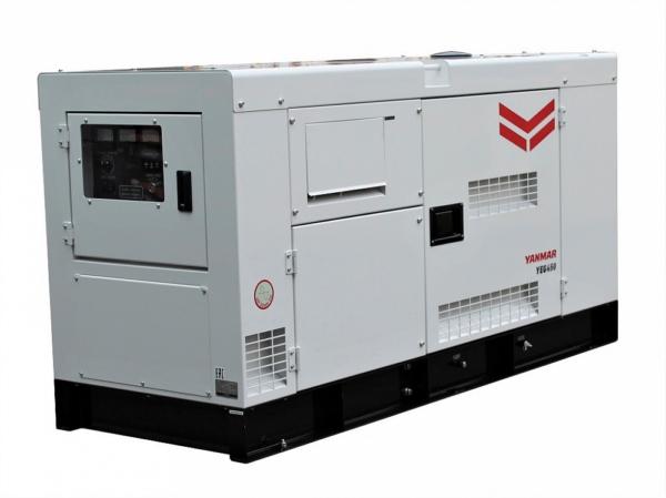 Дизельный генератор YANMAR YEG450DTLS-5B в кожухе с АВР