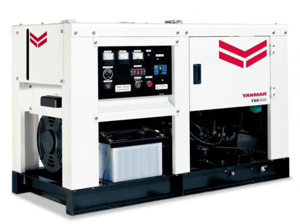 Дизельный генератор YANMAR YEG500DSHC-5B с АВР