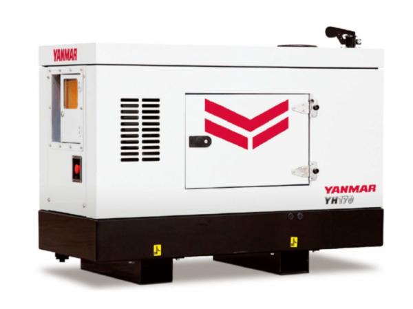 Дизельный генератор YANMAR YH170DTLS-5R в кожухе с АВР