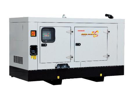 Дизельный генератор YANMAR YH220DSLS-5R в кожухе
