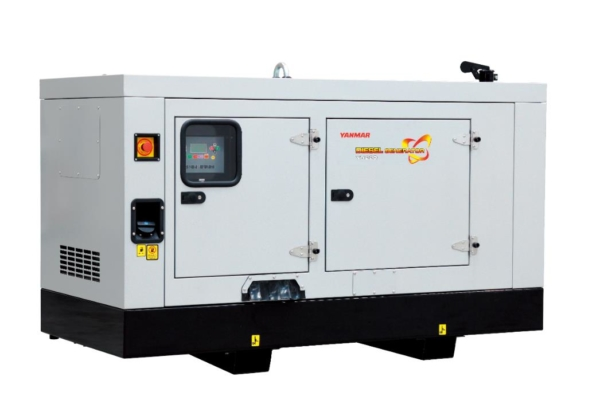 Дизельный генератор YANMAR YH280DSLS-5R в кожухе