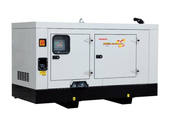 Дизельный генератор YANMAR YH220DTLS-5R в кожухе с АВР