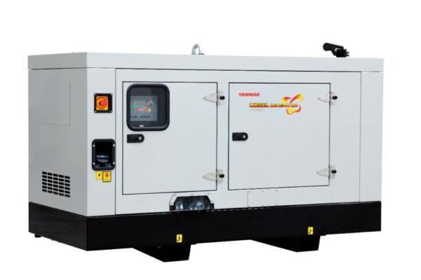Дизельный генератор YANMAR YH280DSLS-5R в кожухе с АВР
