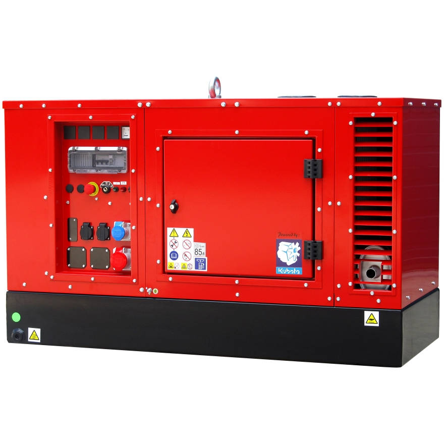 Дизельный генератор EUROPOWER EPS 9 TDE в кожухе с АВР