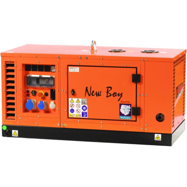 Дизельный генератор EUROPOWER EPS 123 DE в кожухе с АВР