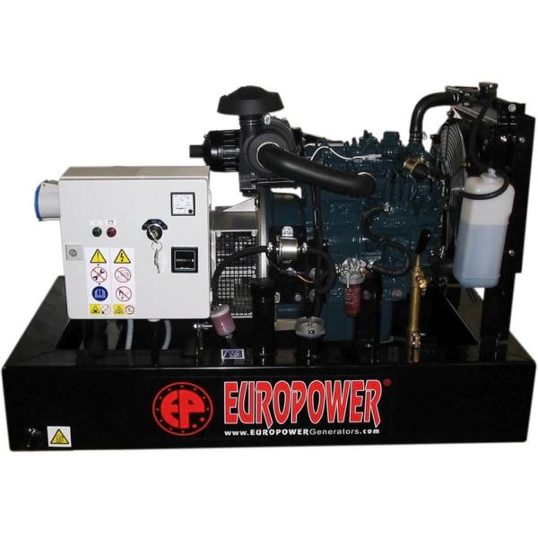 Дизельный генератор EUROPOWER EP 18 DE с АВР