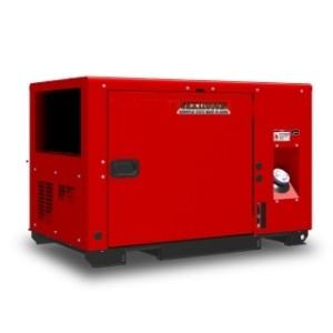 Дизельный генератор ELEMAX SHX12000Di-R в кожухе
