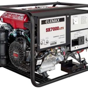 Бензогенератор ELEMAX SH7000ATS-RAVS с АВР