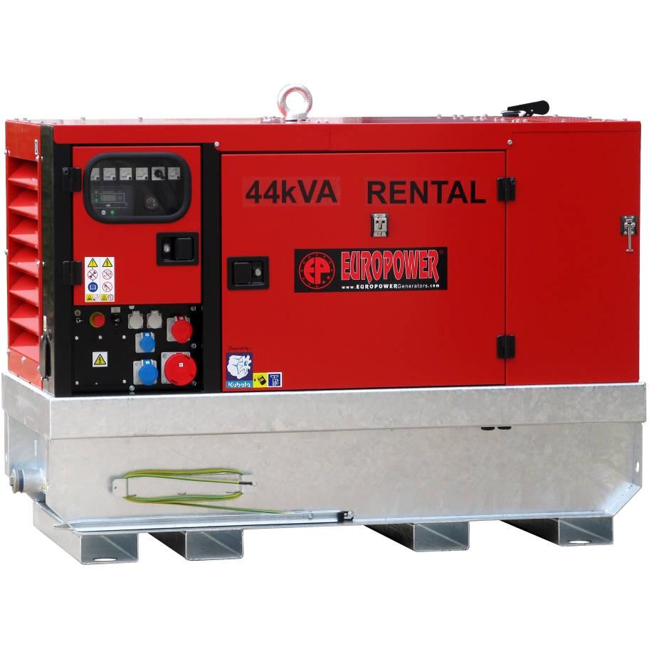 Дизельный генератор EUROPOWER EPSR 44 TDE в кожухе с АВР