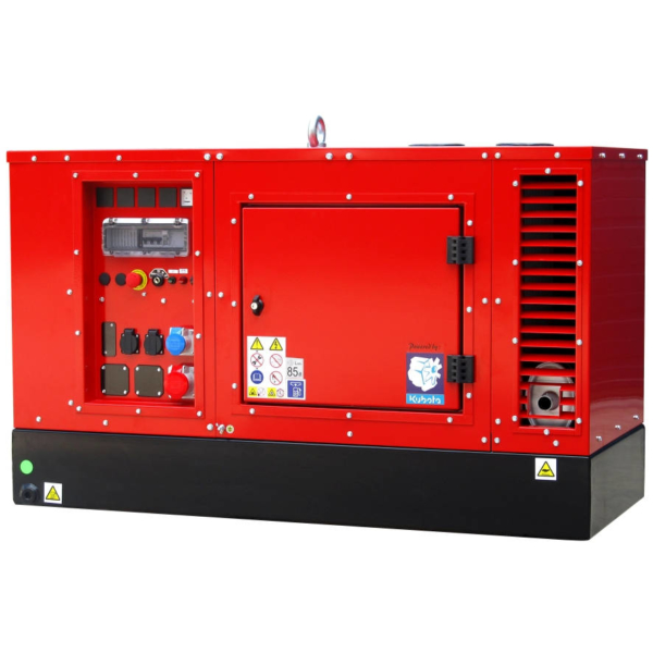 Дизельный генератор EUROPOWER EPS 333 TDE с подогревом в кожухе