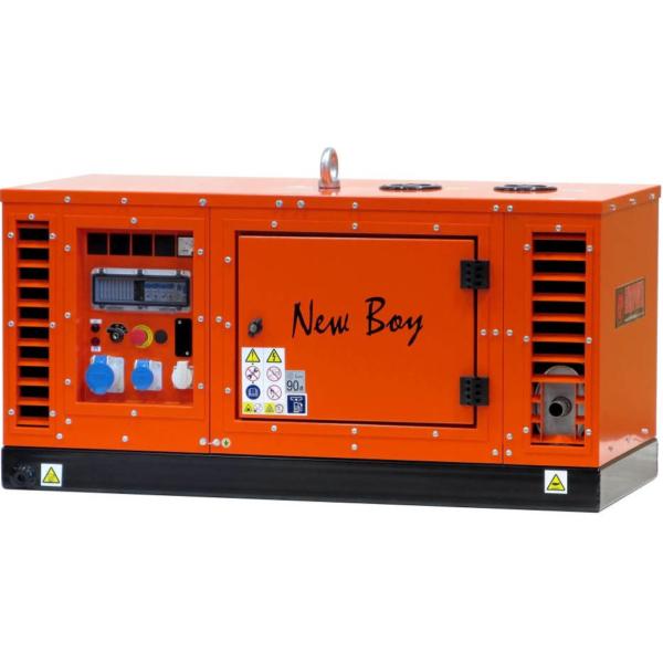 Дизельный генератор EUROPOWER EPS 103 в кожухе с АВР
