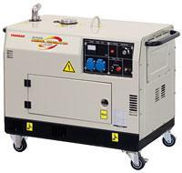 Дизельный генератор YANMAR YDG2700N-5B в кожухе с АВР