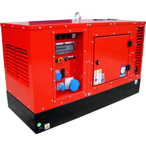 Дизельный генератор EUROPOWER EPS 163 DE в кожухе с АВР