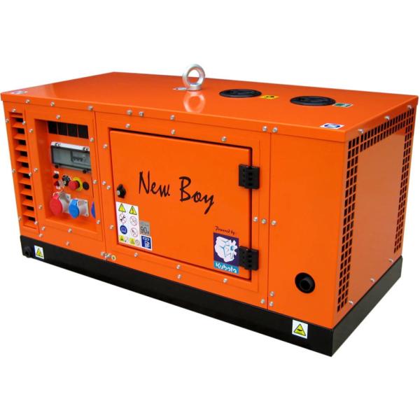 Дизельный генератор EUROPOWER EPS 133 TDE в кожухе с АВР