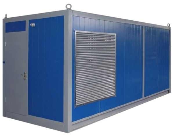 Дизельный генератор EUROPOWER EP 600 TDE в контейнере с АВР