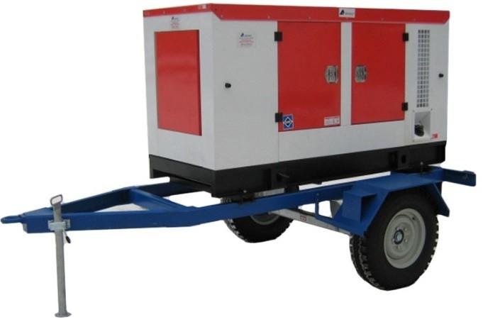Дизельный генератор АЗИМУТ АД-12-Т400-2РКМ11 на шасси с АВР