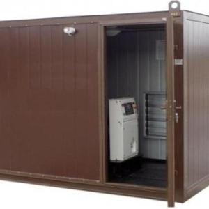 Дизельный генератор АЗИМУТ АД-75С-Т400-2РНМ11в контейнере с АВР