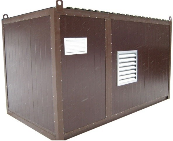 Дизельный генератор АЗИМУТ АД-140С-Т400-2РНМ11в контейнере с АВР
