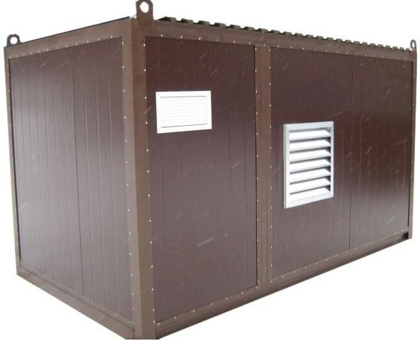 Дизельный генератор АЗИМУТ АД-300С-Т400-2РНМ11в контейнере с АВР