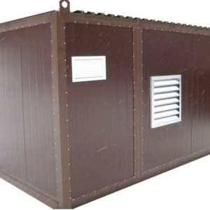 Дизельный генератор АЗИМУТ АД-450С-Т400-2РНМ11в контейнере с АВР