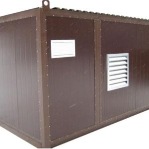 Дизельный генератор АЗИМУТ АД-640С-Т400-2РНМ11в контейнере с АВР