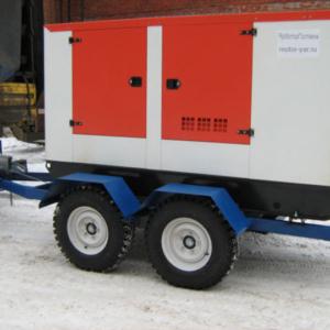 Дизельный генератор АЗИМУТ АД-160-Т400-2РКМ11 на шасси с АВР