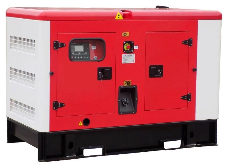 Дизельный генератор АЗИМУТ АД-8С-Т400-2РКМ11 в кожухе с АВР