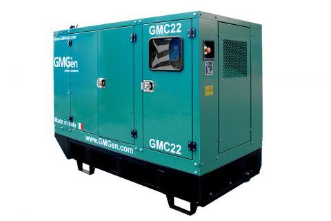 Дизельный генератор GMGen GMC22 в кожухе с АВР
