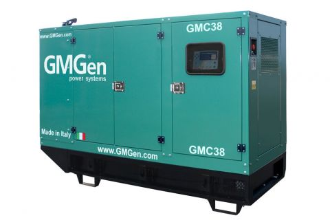 Дизельный генератор GMGen GMC38 в кожухе с АВР
