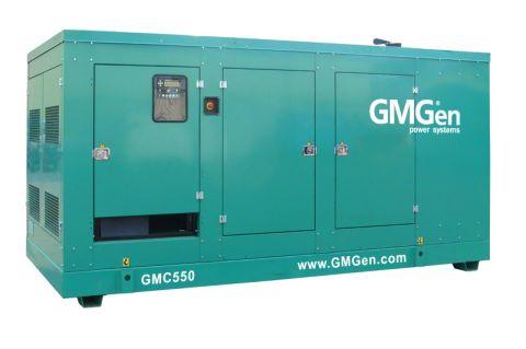 Дизельный генератор GMGen GMC550 в кожухе с АВР