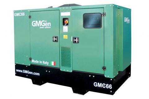 Дизельный генератор GMGen GMC66 в кожухе