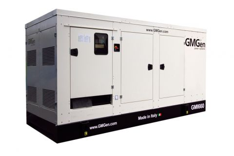 Дизельный генератор GMGen GMI660 в кожухе с АВР