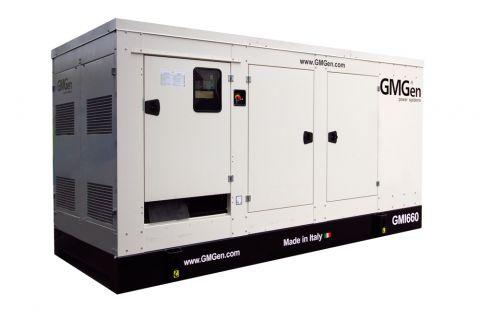 Дизельный генератор GMGen GMI660 в кожухе