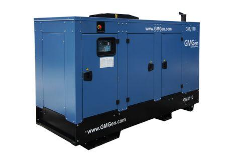 Дизельный генератор GMGen GMJ110 в кожухе с АВР