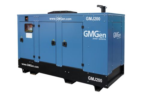 Дизельный генератор GMGen GMJ200 в кожухе с АВР