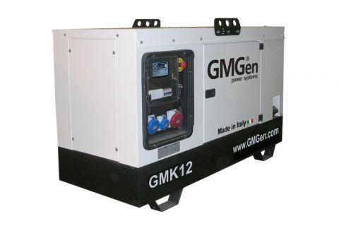 Дизельный генератор GMGen GMK12 в кожухе с АВР